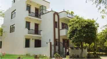 Front View Tree Top Greens Serviced Apartment Gurgaon